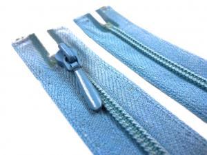 D105 Blixtlås 22 cm Opti 4 mm spiral ej delbar blå