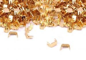 D151 Blixtlås Bottenstopp 3 mm guld