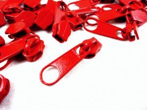 D201 Löpare till blixtlås metervara art D201 röd
