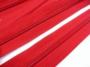 D201 Blixtlås metervara 3 mm röd