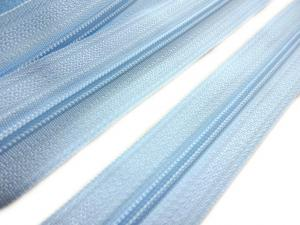 D201 Blixtlås metervara 3 mm ljusblå