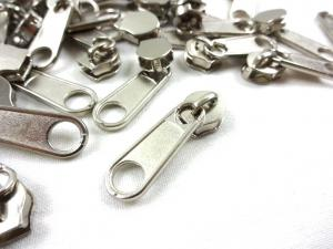 D202 Zipper Slider for Continuous Zipper D202 and D207 nickel
