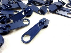 D202 Zipper Slider for Continuous Zipper D202 mörkblå