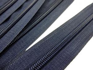 D202 Blixtlås metervara 5 mm mörkblå