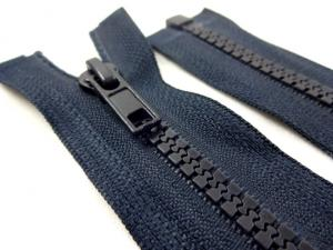 D301 Plastic Zipper 70 cm One-way Separating dark blue