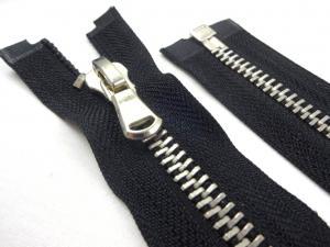 D361 Metal Zipper 80 cm One-way separating black