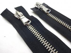 D362 Metal Zipper 80 cm Two-way separating black