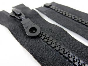 D400 Blixtlås 40 cm delrin delbar 5 mm svart