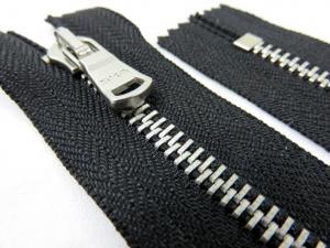 D501 Metallblixtlås nickelfri 10 cm svart