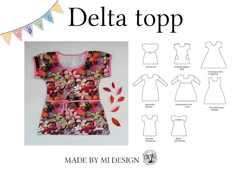 Delta topp och klänning - Made by Mi