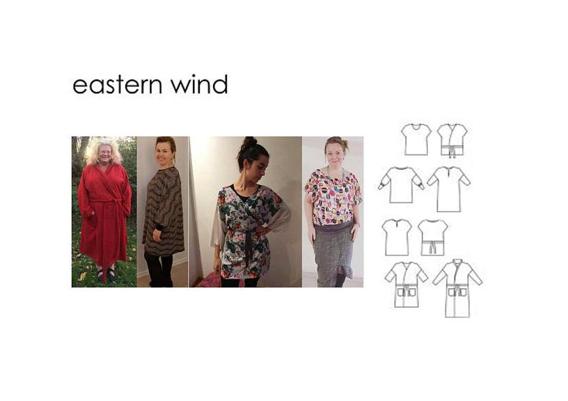 Eastern Wind - Sewingheartdesign