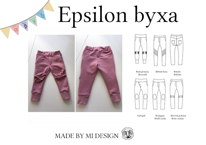 Epsilon barnbyxa - Made by Mi