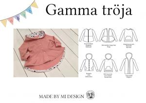Gamma Children's Cardigan and Hood - Made by Mi