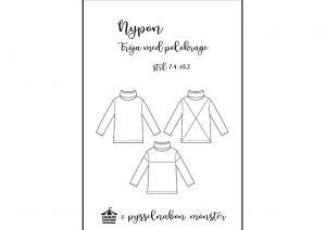 Nypon tröja med krage - Pysselnabon