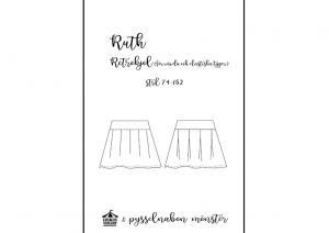 Ruth retrokjol för barn - Pysselnabon