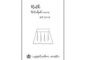 Ruth retrokjol för vuxen - Pysselnabon