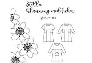 Stella klänning med fickor - Pysselnabon