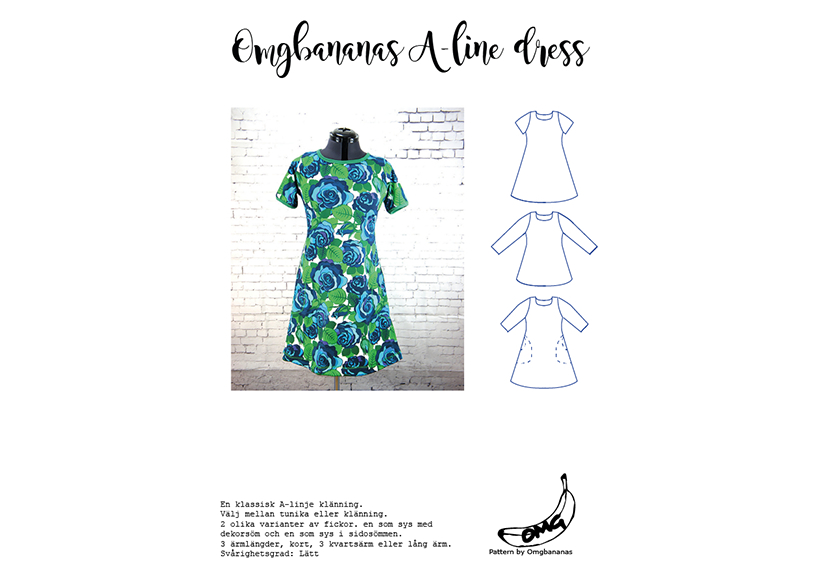 A-line dress - OMG Bananas**