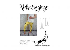 Kids leggings - OMG Bananas**