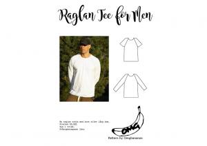 Raglan Tee for Men - OMG Bananas