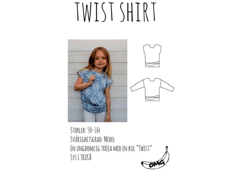 Twist shirt - OMG Bananas