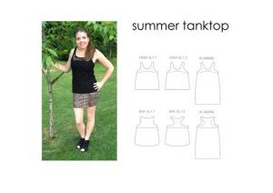 Summer Tanktop - Sewingheartdesign