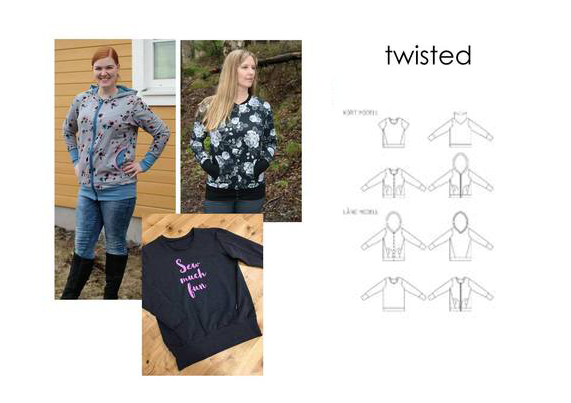 Twisted - Sewingheartdesign
