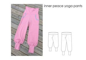 Inner Peace Yoga Pants - Sewingheartdesign