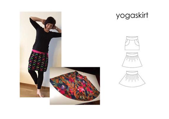 Yoga Skirt - Sewingheartdesign