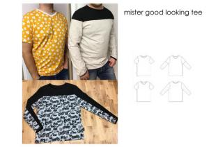 Mister Good Looking Tee - Sewingheartdesign
