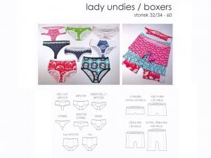 Lady Undies and Boxers - Sewingheartdesign