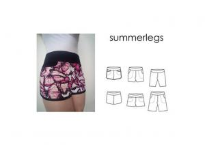 Summerlegs - Sewingheartdesign