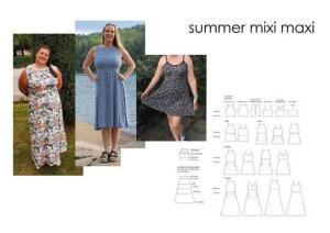Summer Mixi Maxi - Sewingheartdesign