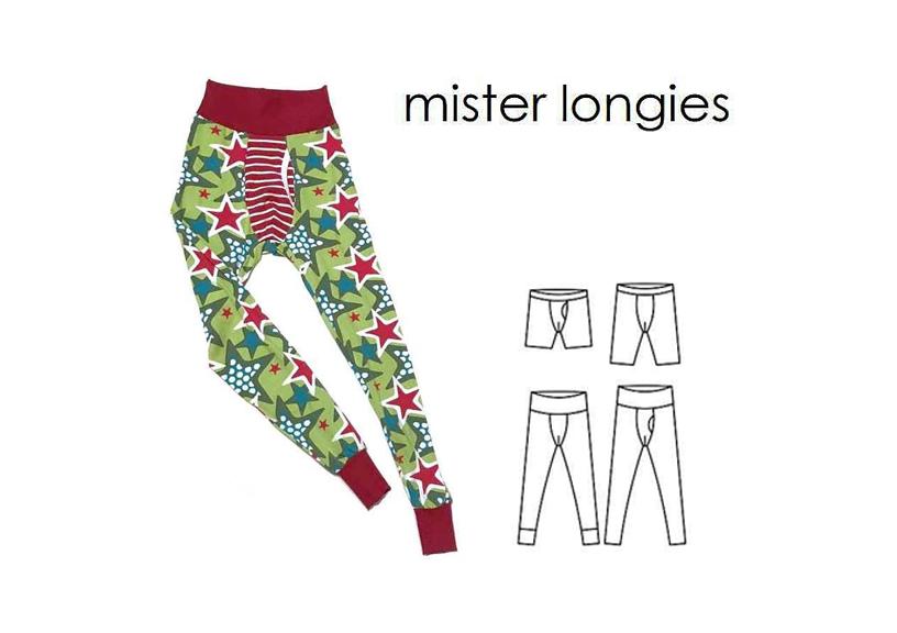 Mister Longies - Sewingheartdesign