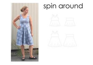 Spin Around - Sewingheartdesign