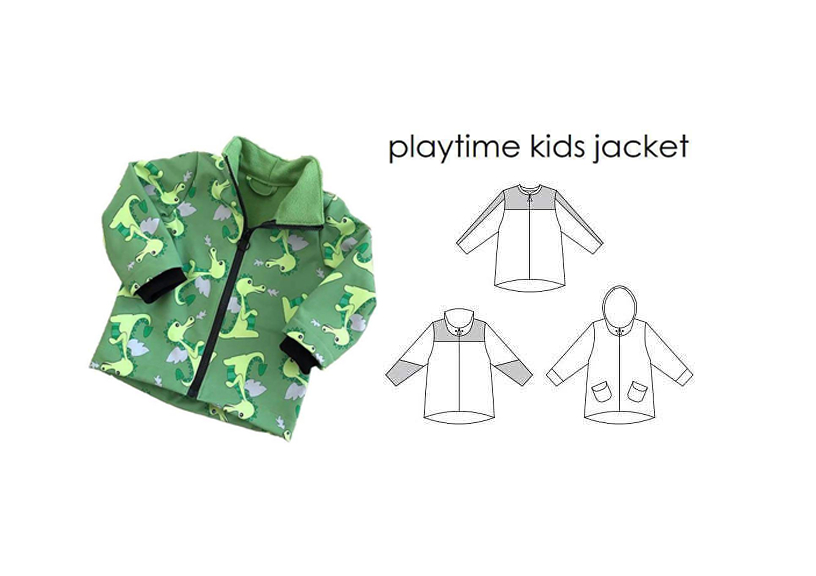 Playtime Kids Jacket - Sewingheartdesign