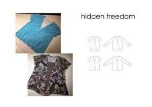 Hidden Freedom - Sewingheartdesign