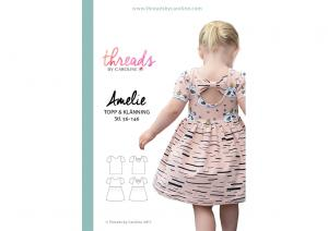 Amelie Top and Dress - Threads by Caroline pattern