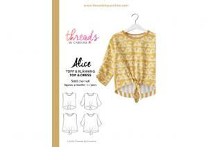 Alice Top and Dress - Threads by Caroline