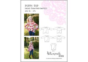 Poppy Top - Hallonsmula