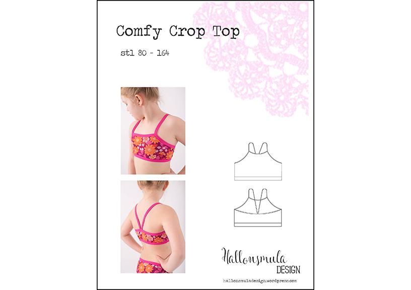 Comfy Crop Top - Hallonsmula
