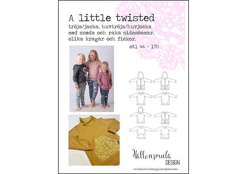 A Little Twisted Sweater - Hallonsmula