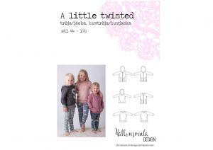 A Little Twisted tröja - Hallonsmula