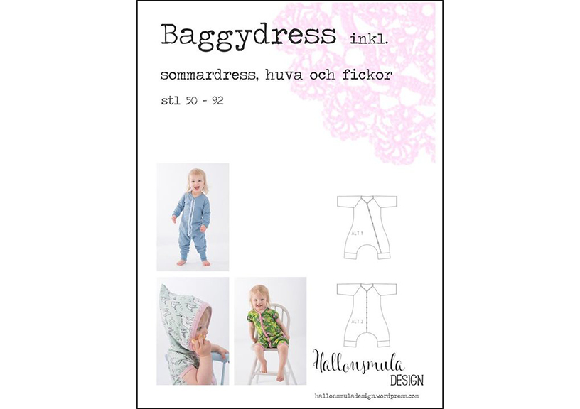 Baggy Onesie - Hallonsmula