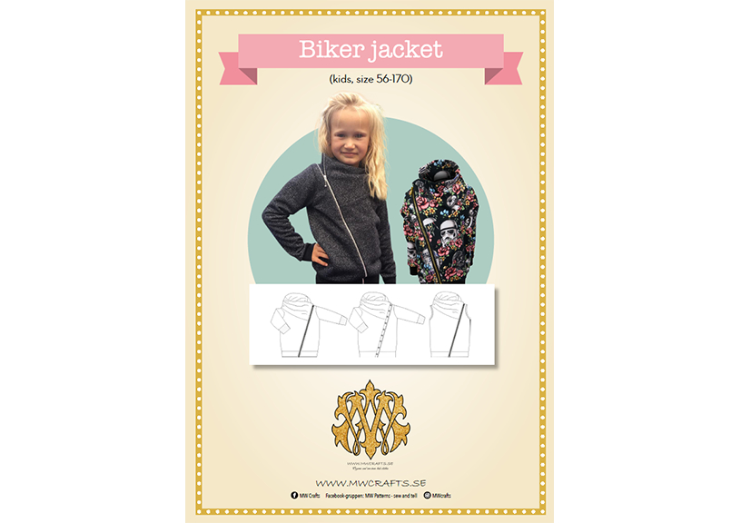 Biker Jacket Kids - MW Crafts