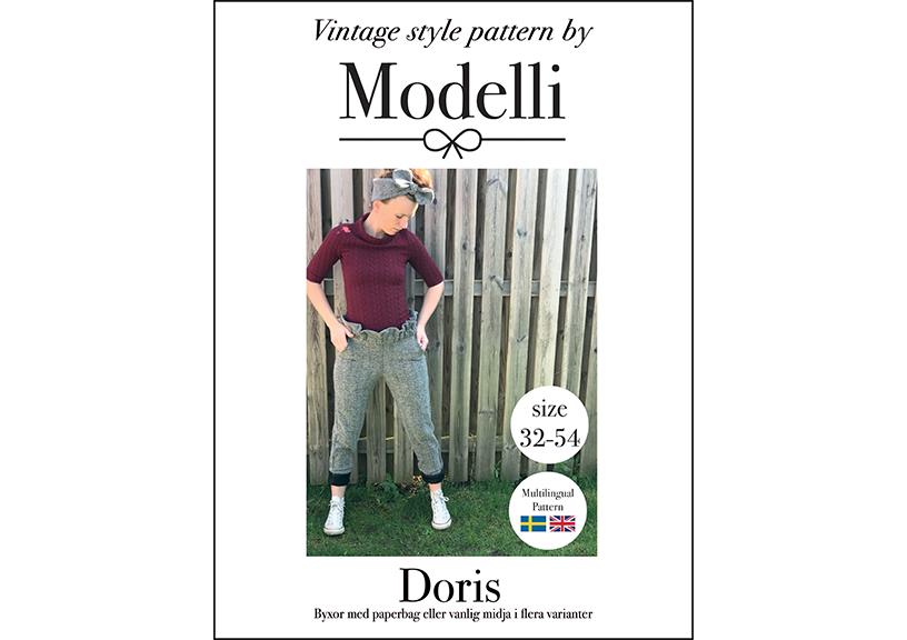 Doris Paperbag byxa - Modelli