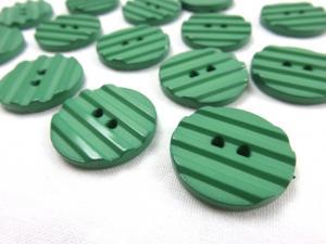K001 Knapp 23 mm grön med ränder