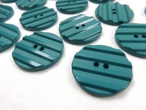 K001 Knapp 30 mm mörkgrön med ränder
