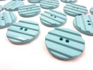 K001 Knapp 31 mm grön med ränder