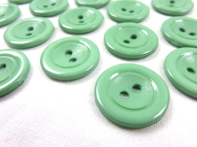 K002 Knapp 22 mm grön